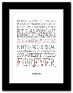 THE-BEATLES-Strawberry-Fields-Forever-song-typography-poster-art-print