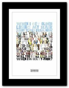 THE-BEATLES-When-Im-Sixty-Four-song-lyrics-typography-poster-art-prints