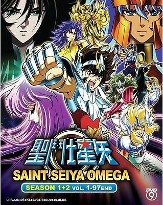 DVD Japanese Anime Saint Seiya Omega Season 1-2 Vol. 1-97 End English Sub DVD9