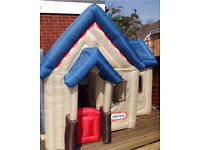 Little Tikes inflatable Victorian house