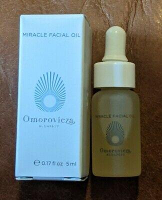 NIB Omorovicza Miracle Facial Oil Skincare .17 oz / 5 ml Deluxe Travel Size Mini