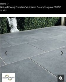 Natural Paving Porcelain 'Vitripiazza Oceano' Laguna-PAVING SLABS