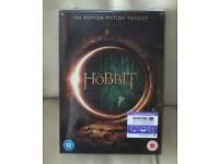 DVD'S 'THE HOBBIT' The Motion Picture Trilogy - brand new, cellphane sealed and wrapped, un opened