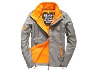Used Superdry original windcheater jacket for men - L size - 100% Polyester - £30