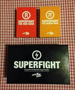 Superfight (Core + 2 Expansions) Coorparoo Brisbane South East Preview