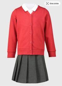 Girl's School Uniform Bundle for 9-10 years old