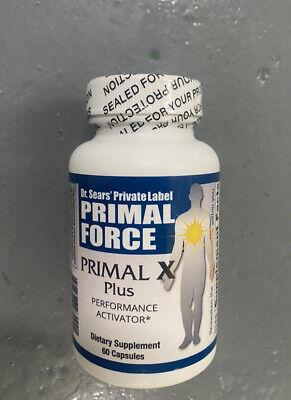 Primalforce Primal X Plus Performance Activator Dietary Supplements 60 Capsules
