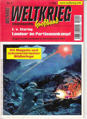 """Weltkrieg """"Großband"""" Nr. 004 ***Zustand 1-***"""
