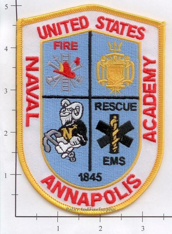 Maryland - Annapolis Naval Academy MD Fire Dept Patch