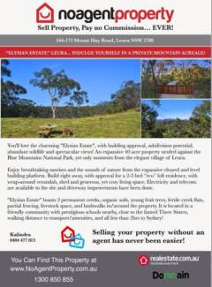 """""""Elysian Estate"""" Leura is FOR SALE!   *PRICE ON APPLICATION"""