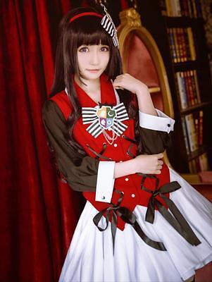 Card-captor Sakura Stern Tomoyo Daidouji Cosplay Kostüm Abend-kleid Lolita Dress