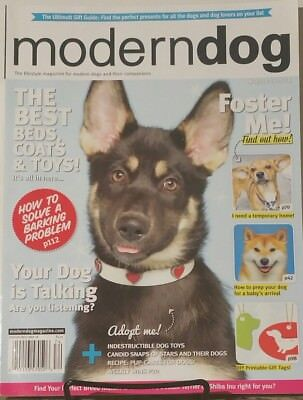 Modern Dog Winter 2018 The Best Bed Coats & Toys  FREE SHIPPING mc24