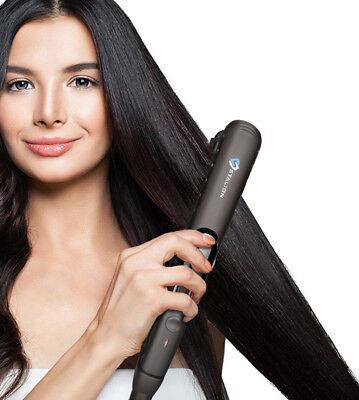 Steam Hair Straightener Tourmaline Ceramic Dead Iron Professional Hair Styler