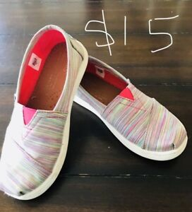 Toms shoes for girls.  Size 13