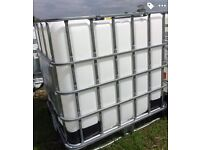 IBC containers hold 1000 ltr