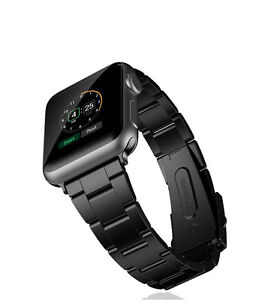 Apple Watch band Black (stainless steel)