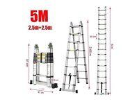 5m telescopic ladder