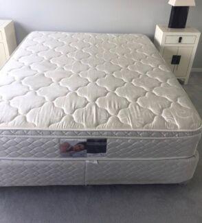 Queen ensemble bed