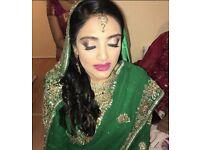 Asian bridal makeup artist Estee lauder and Bobbi brown artist
