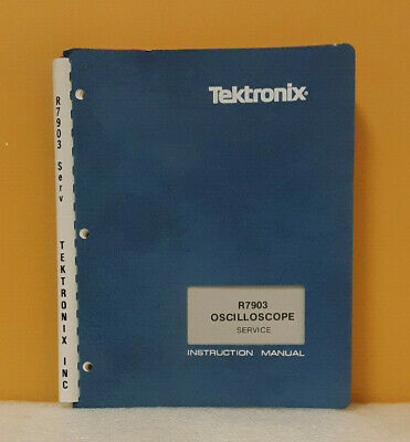 Tektronix 070-1464-00 R7903 Oscilloscope Service Instruction Manual