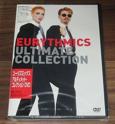 Sealed PROMO! Eurythmics ULTIMATE COLLECTION Japan DVD obi ANNIE LENNOX others