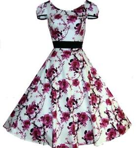 Rockabilly Vintage Formal 50s Evening Swing Dance Pinup Dress AU sz  8 - 26 plus