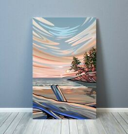 Evening Tide - Signed Art Print
