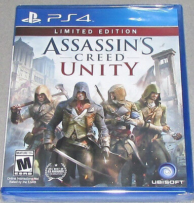 Assassins Creed  Unity    Limited Edition  Sony Playstation 4  2014  New Ps4