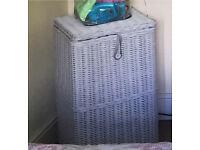 IKEA rattan laundry basket