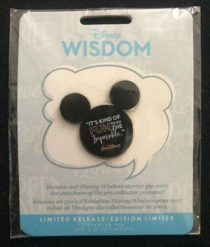 Disney Store Wisdom Starter Pin Walt It