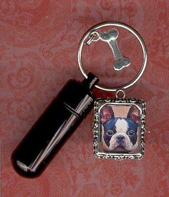 KL,Cat,Dog ID,Photo Frame Black,Gothic,,Key Chain Urn,Pet Urn,Small Urn