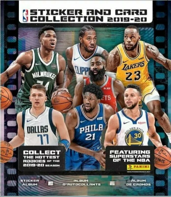 2019 Panini Nba Basketball Sticker Collection Album 2019-20 W Sticker 5 Pack