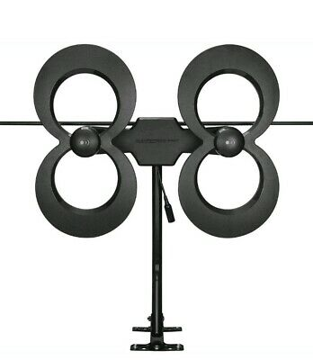 Antennas Direct - ClearStream 4MAX Indoor/Outdoor HDTV Antenna - Black