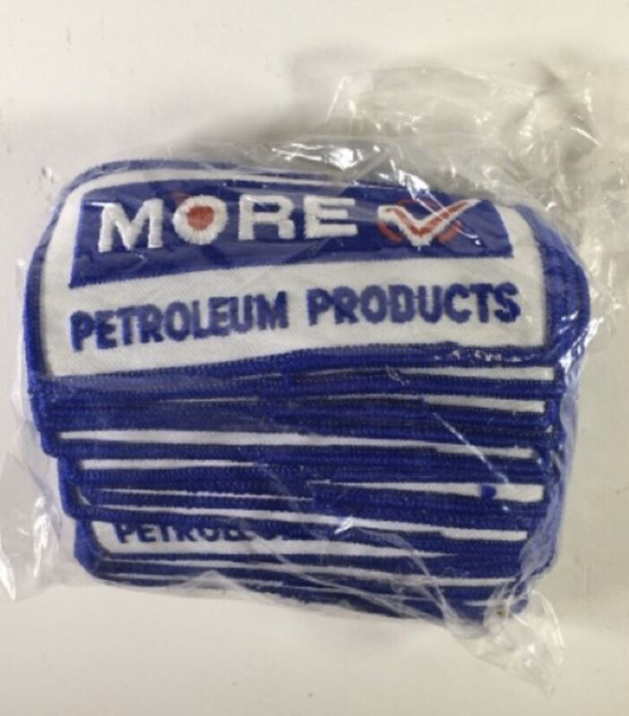 More Petroleum Products ~ Uniform Patches ~ Lot of 20 ~ New Old Stock