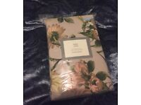 M&S double duvet cover set pretty floral brand new in packaging