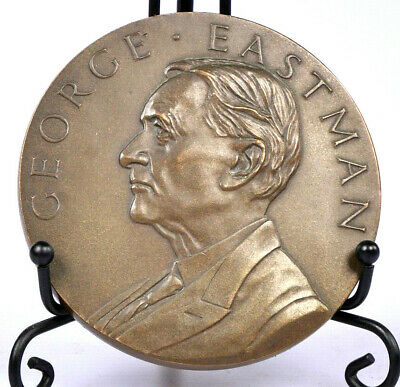 The George Eastman Bronze Kodak Service Award, 25 Years - Rare & Collectable