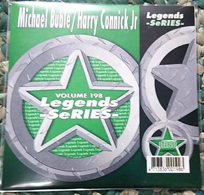 Legends Karaoke Cdg Michael Buble   Harry Connick Jr  198 Pop Jazz 15 Songs