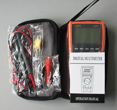 Vc 87 87v True Rms Digital Multimeter For Motor Drives Industrial Dmm Vici