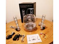 Harman Kardon Soundsticks III. Wired speaker system with subwoofer.
