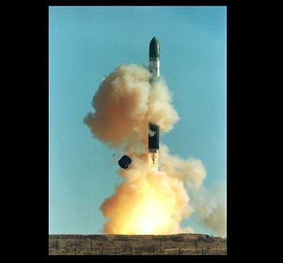 R-36 Russian Nuclear Missile PHOTO ICBM Launch, SS-9 SS-18 Satan Bomb, Soviet