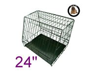 Ellie-bo sloping puppy crate, small, ideal for car
