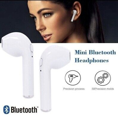 Wireless Bluetooth Earbuds Mini In-Ear Headphones for iPhone For Android