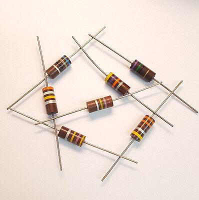 75 Ohm 2w 5 3 Pcs Carbon Composition Resistor Carbon Comp 2 Watt 2000mw