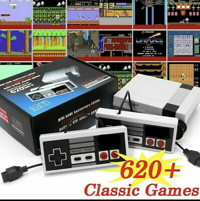 620 Games Built In Mini Classic Retro Game Console System With AV For NES
