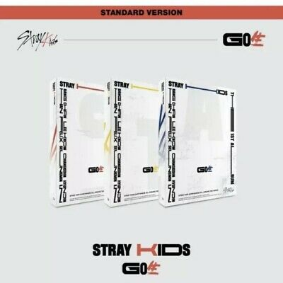 [ STRAY KIDS ] - GO生 (GO Live) Standard Edition Album SEALED Random Version