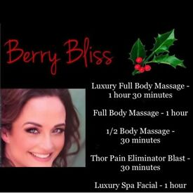 Massage and Facials