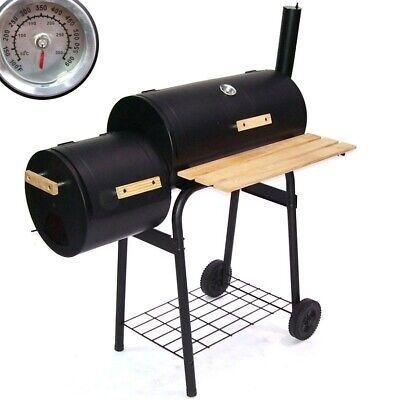 56510 BBQ Smoker parrilla carbón ahumador de barbacoa Grill carro Party