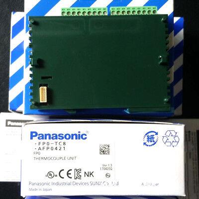 Panasonicnais Fp0-tc8 Afp0421 Thermocouple Unit New