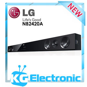 LG NB2420A Soundbar Sound Bar Audio System with Bluetooth Connectivity speakers
