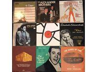 9 x vinyl records of mixed genres